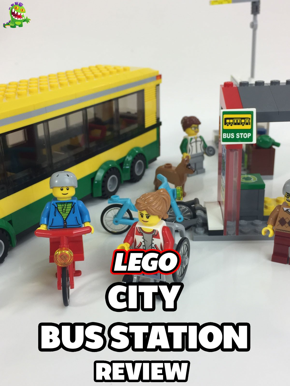 Review: Lego City Bus Station Review
