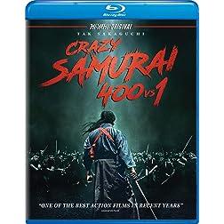 Crazy Samurai 400 vs. 1 [Blu-ray]