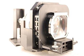 et lax100 lampe complete pour pour panasonic pt ax100e. Black Bedroom Furniture Sets. Home Design Ideas