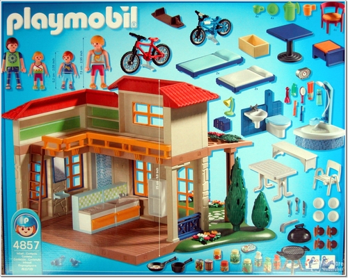 4857 maison de campagne de playmobil. Black Bedroom Furniture Sets. Home Design Ideas