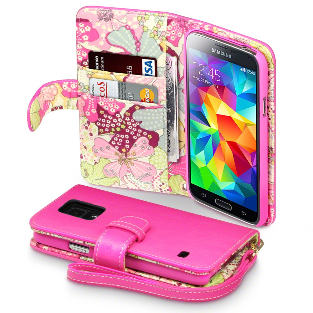 Cases And Accessories: Samsung Galaxy S5 Wallet Cases For Girls