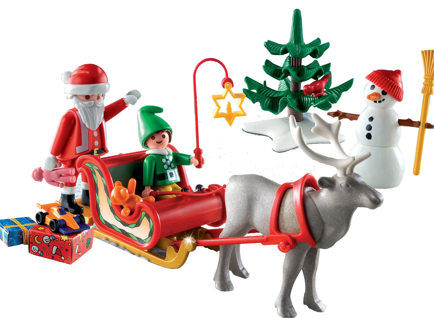 Details about PLAYMOBIL Christmas Holiday Carrying Case Play set Santa ...