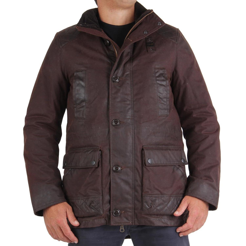 BLAUER USA Herren Winterjacke Vintage Brown 0946