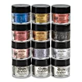 Jacquard Products Pearl Ex Metallic Calligraphy Set, Assorted (Color: Assorted, Tamaño: 1-(Set of 12))