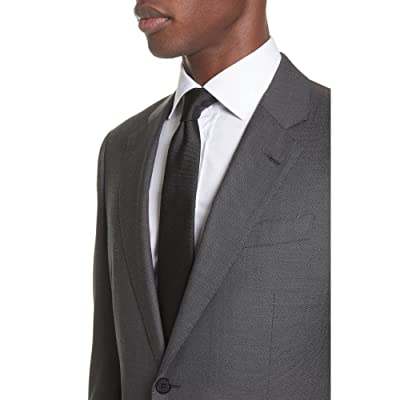 EMPORIO ARMANI  G Line Trim Fit Solid Wool & Silk Suit [並行輸入品]
