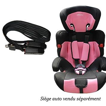 mervy ceinture ceinture de securite fixation isofix pour sieges auto auto groupe 1 2 3 ou. Black Bedroom Furniture Sets. Home Design Ideas