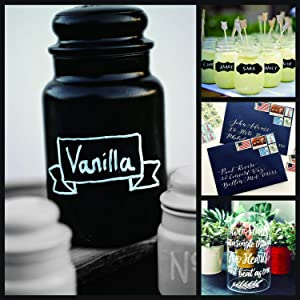 White Paint Pen, 6 Pack 0.7mm Acrylic White Permanent Marker White Paint Pens for Wood Rock Plastic Leather Glass Stone Metal Canvas Ceramic Marker Extra Very Fine Point Opaque Ink (Color: White Paint Marker Pen)