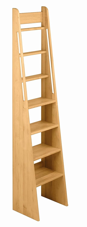 Treppen-Leiter Hochbett 180 cm Massivholz Erle Noah jetzt bestellen