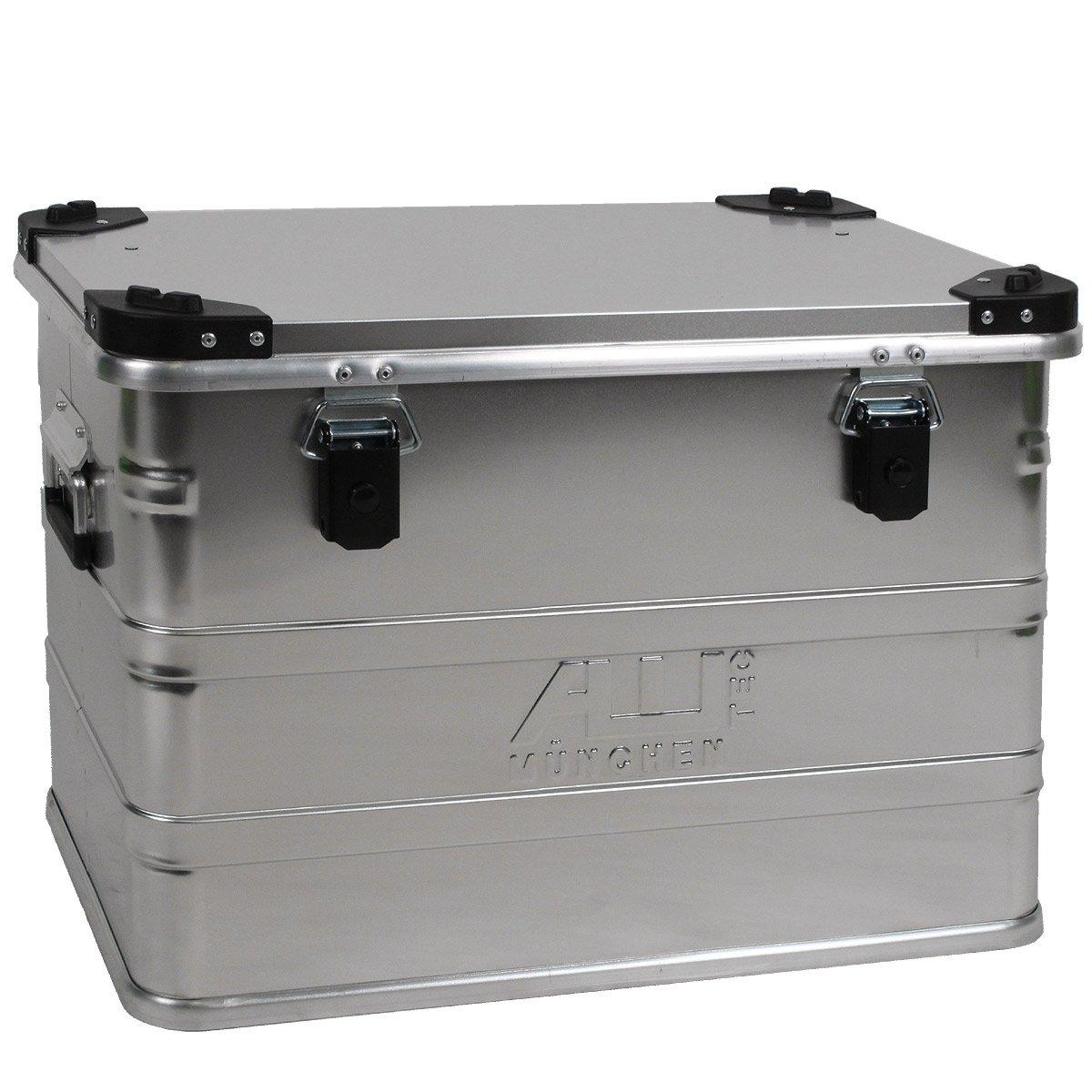 Alukoffer Alubox Lagerbox Alukiste Kiste 76 Liter  D76 1,0 mm starkes Aluminium  BaumarktKundenbewertung und Beschreibung