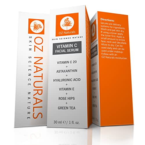 Oz Naturals Vitamin C Serum for the Face Review