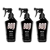 Bod Man - Mens Body Spray - Black - Pack of 3