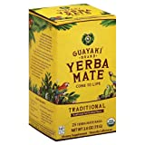Guayaki Yerba Mate Organic Tea, 25-Count, 2.6oz (Tamaño: 25)