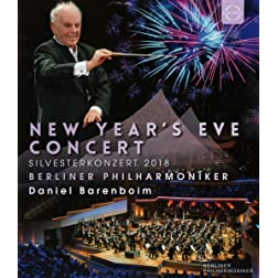 New Years Eve Concert 2018 - Berliner Philharmoniker / Daniel Barenboim [Blu-ray]
