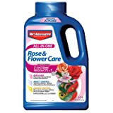 Bayer Advanced 701110A  All in One Rose and Flower Care Granules, 4-Pound (Color: Granules, Tamaño: 4-Pound)