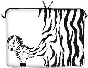 DIGITTRADE LS111-13 Zebra diseño funda protectora estuche antihumedad de neopreno para portátil macbook 13.3 pulgadas (33.8 cm)  Informática Revisión del cliente y más noticias