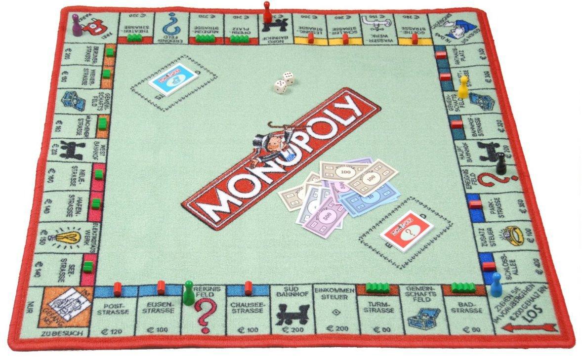 SPIELTEPPICH 'Monopoly' Kinderteppich jetzt kaufen