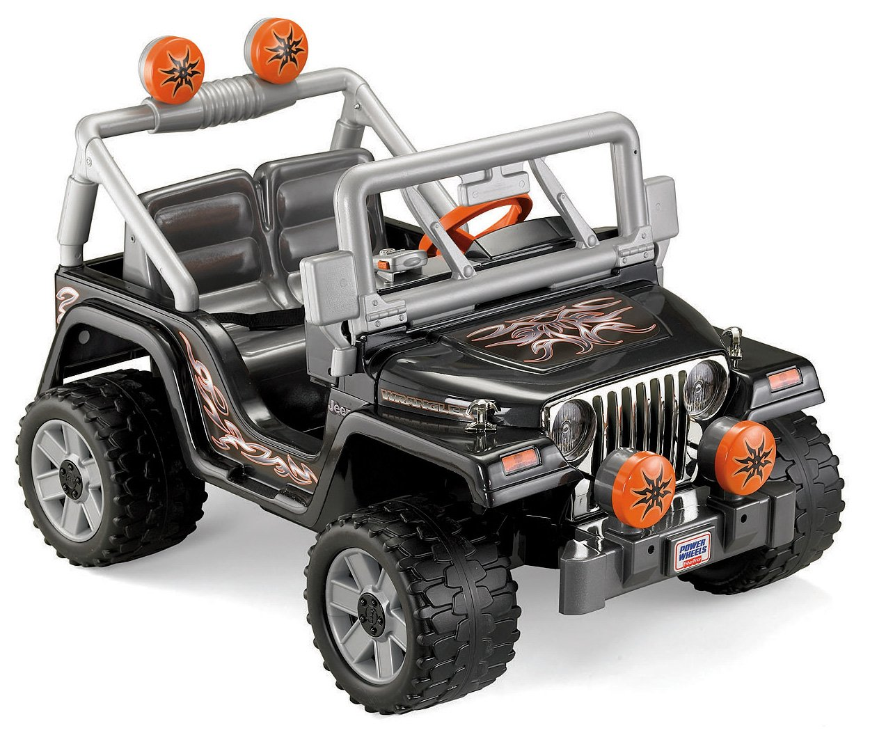 Power Wheels Touch Talking Jeep Wrangler
