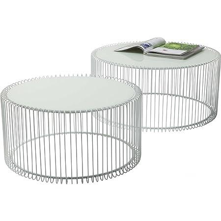 Kare 80179 Couchtisch Wire White (2/Set)