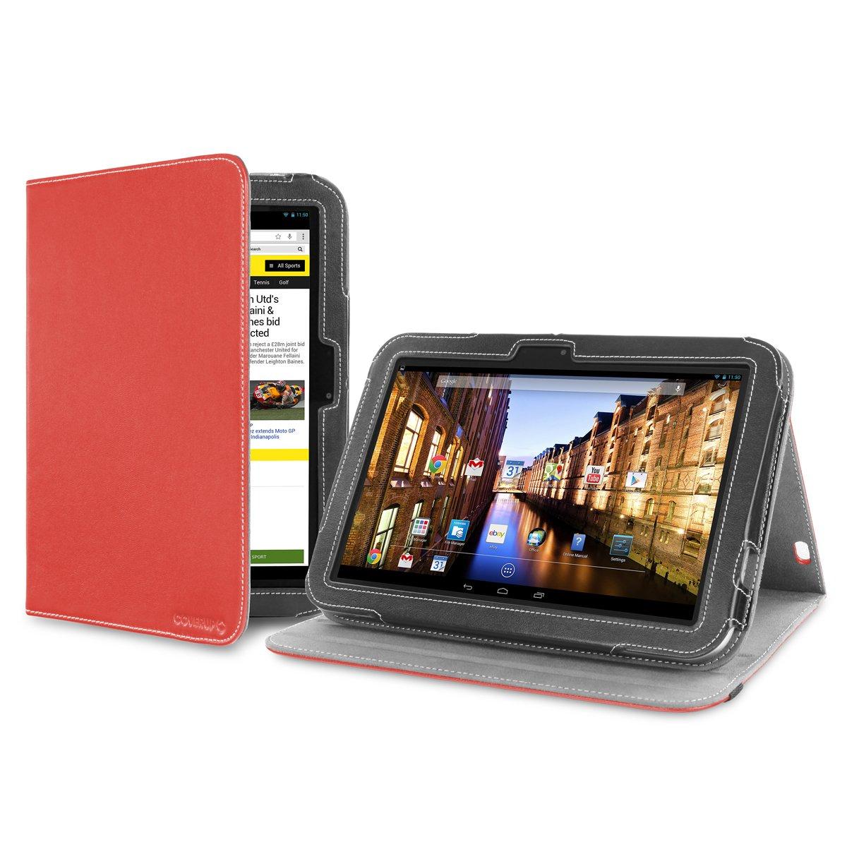 Cover-Up - Funda para tablet Toshiba Excite Pro de 10,1 (función atril) rosso  Informática Comentarios y más información