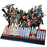 XFUNY Arcade Game Console 1080P 3D & 2D Games 2260 in 1 Pandora's Box 70 3D Games 2 Players Arcade Machine Arcade Joystick Support Expand 6000+ Games PC / Laptop / TV / PS4 (KOF) (Color: kof)