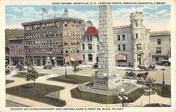 Pack Square in Asheville, North Caroina