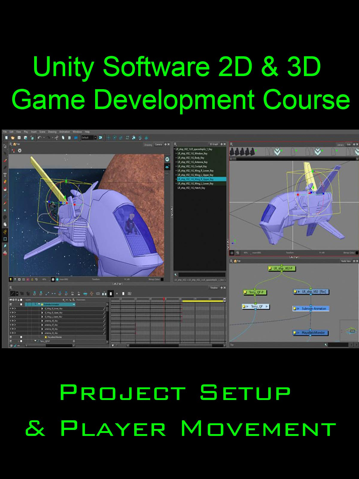 Unity 2D and 3D Game Developer Course-Project Setup and Player Movement