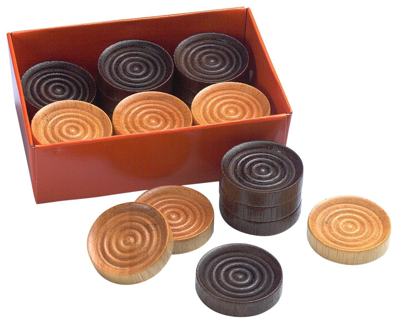 Drueke 831.24 Wood Checkers , New, Free Shipping | eBay