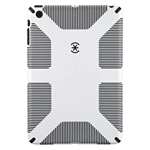 Speck CandyShell Grip Case for Apple iPad Mini   White/Blackreviews and more information