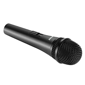 Neewer Cardioid Dynamic Microphone with XLR Male to XLR Female Cable, Rigid Metal Construction for Professional Musical Instrument Pickup, Vocals, Bro