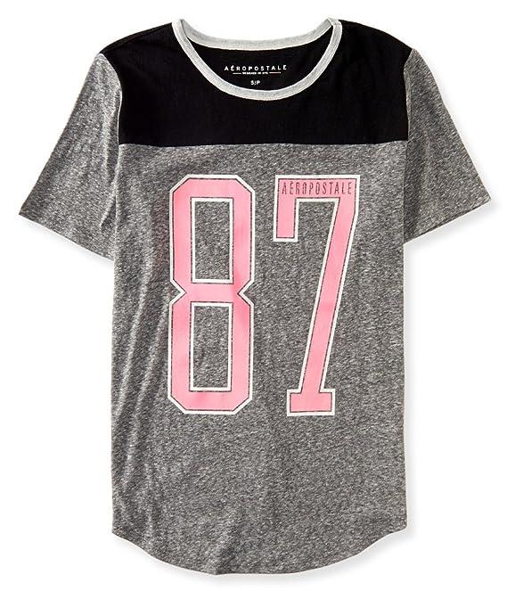 Aeropostale Women's Aero 87 Football Tee Shirt