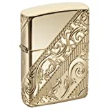Zippo 2018 Collectible of The Year Pocket Lighter (Color: Gold)
