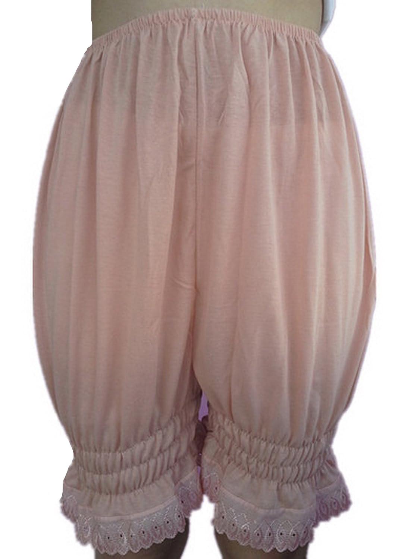 Frauen Handgefertigt Halb Slips UL3CBW BROWN Half Slips Cotton Women Pettipants Lace online bestellen