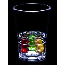 SideKick SKSG-RT4 Shot Glass Set (12 Sets of 4)