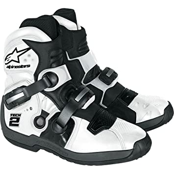 Alpinestars - Bottes cross - TECH 2 - Couleur : White - Pointure : 9