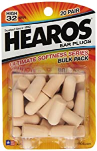 Hearos Ultimate softness earplugs for snoring