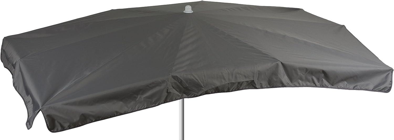 beo Sonnenschirme wasserabweisender, rechteckig, 130 x 200 cm, Grau jetzt kaufen
