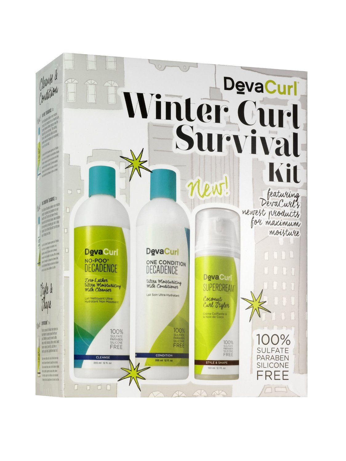 DevaCurl Winter Curl Survival Kit