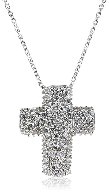 Joop Damen-Halskette 925 Sterling Silber Extreme Pavée Zirkonia-Pavée weiÃY Zirconia Pavée ca. 45 cm (42 + 3 cm) JPNL90609B420