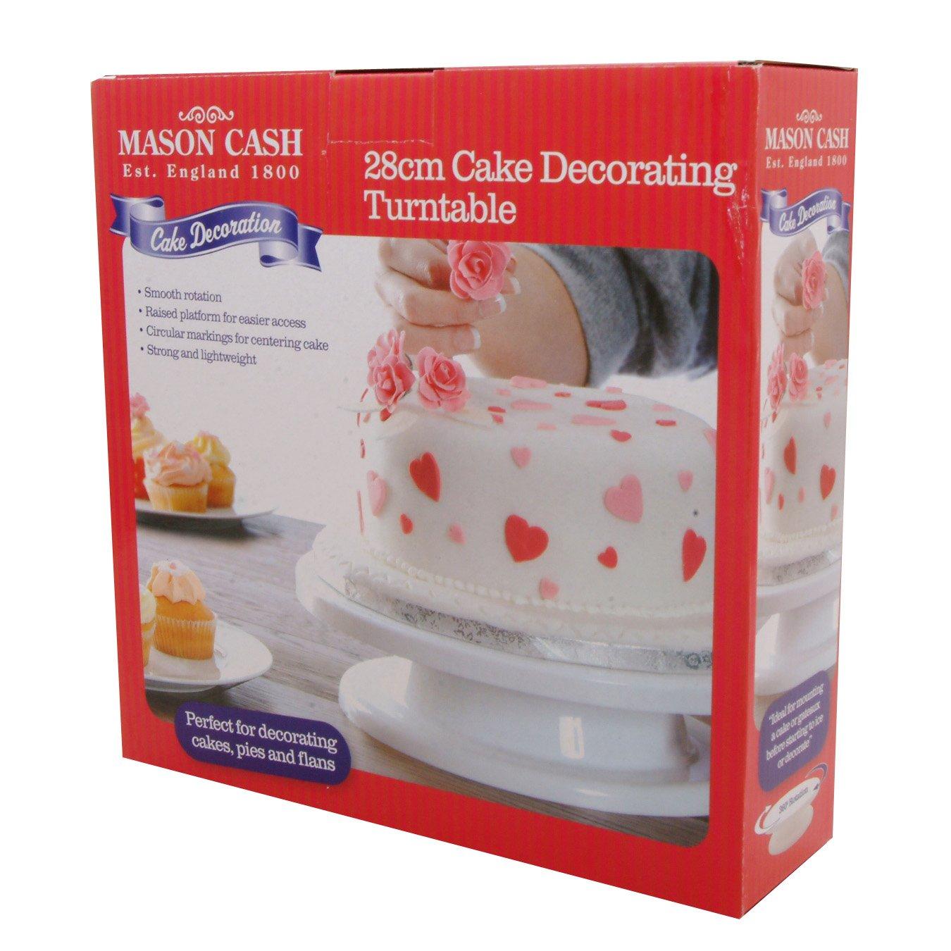 Plateau tournant pour gâteau 28 cm