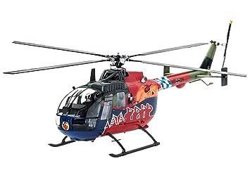 Revell - 04906 - Maquette D'aviation - Bo 105 35ème Anniversaire De Roth - 84 Pièces