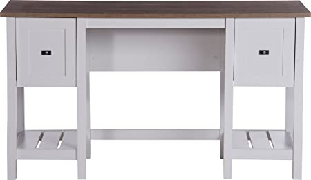 Teknik Office 5418072scrivania in stile–morbido bianco