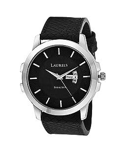 Laurels Lwm-inc-vi-020207 Analog Black Dial Men's Watch-LWM-INC-VI-020207