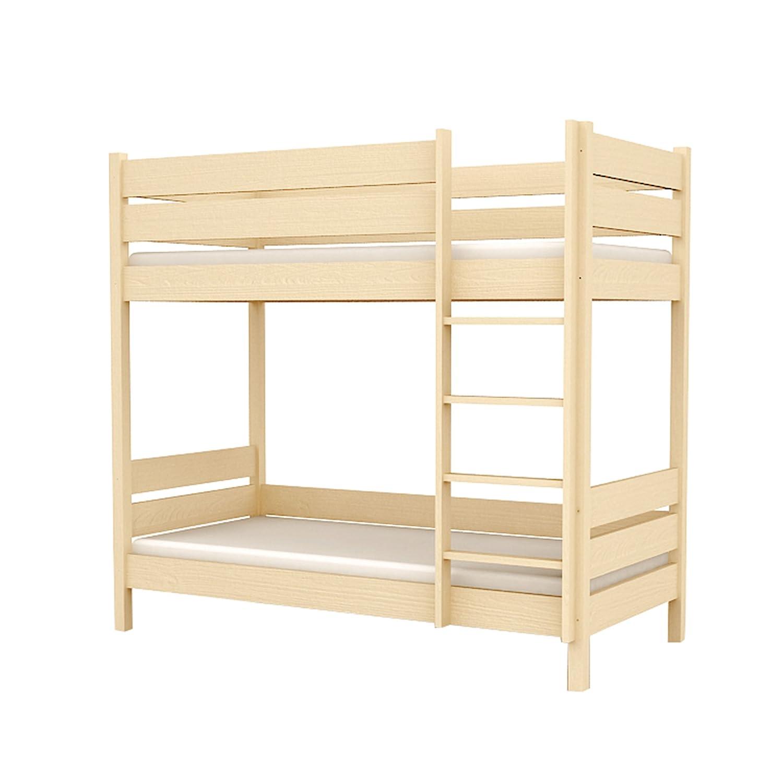 Kinderbett Etagenbett für Kinder Kinderzimmer AFRICA 107x208x180cm Holz natur L2 90/200 online bestellen