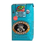 Jeremiah's Pick Coffee Organic Water Processed Dark Roast Decaf Ground Coffee, 10-Ounce Bags (Pack of 3) (Tamaño: 10  Ounces)