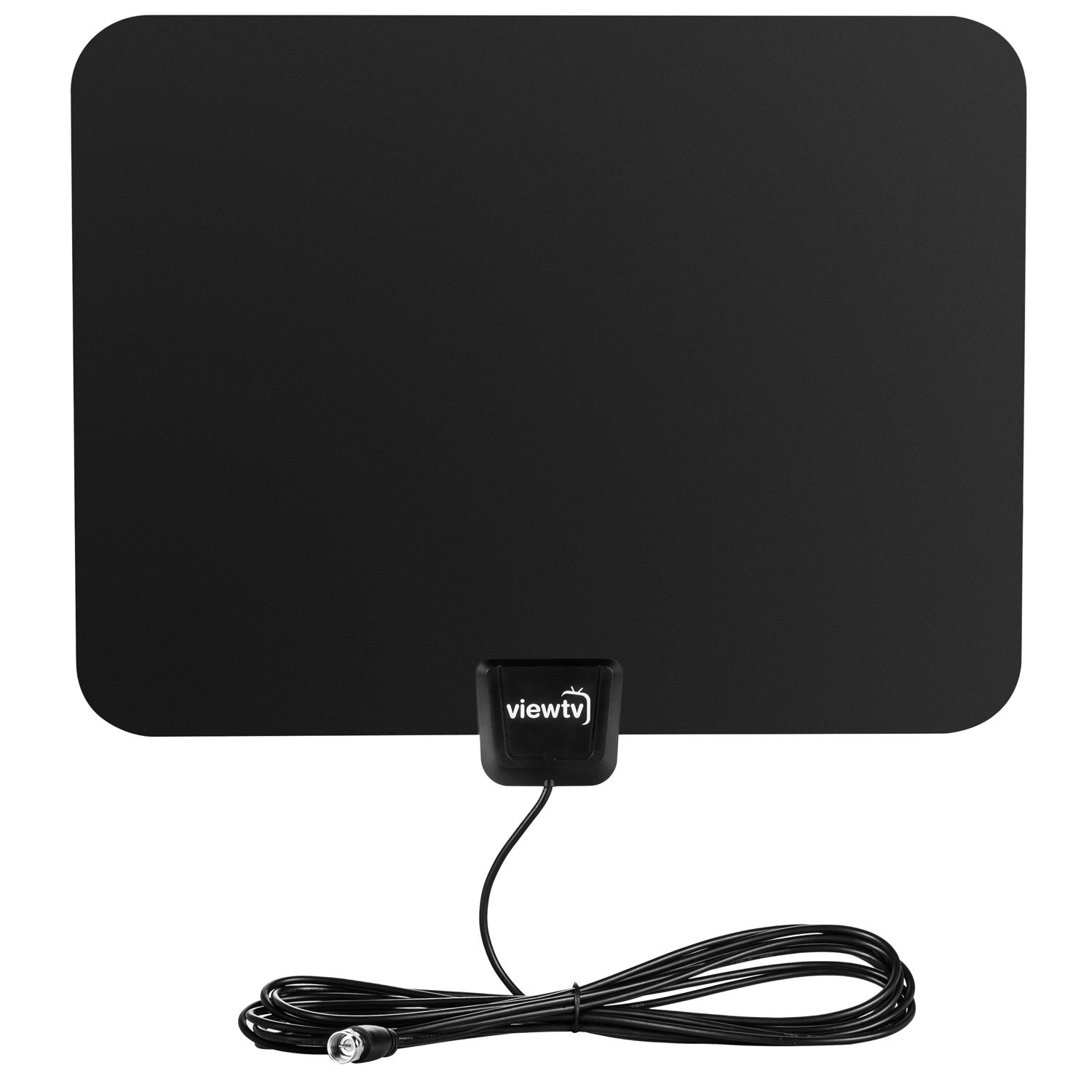 Digital Tv Signal Amplifier : Viewtv flat hd digital indoor amplified tv antenna