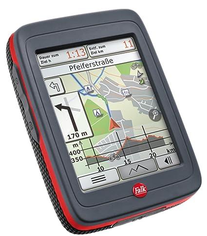 Falk IBEX 40 Cross - vélo - noir/rouge GPS