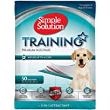 Simple Solution Training Pads for Dogs, Premium, 23x24 Inch, 50 Count, 4 Pack (Tamaño: 200 ct)