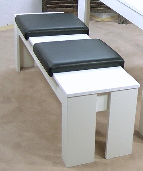 Sitzbank 120 cm mit 2 Kissen