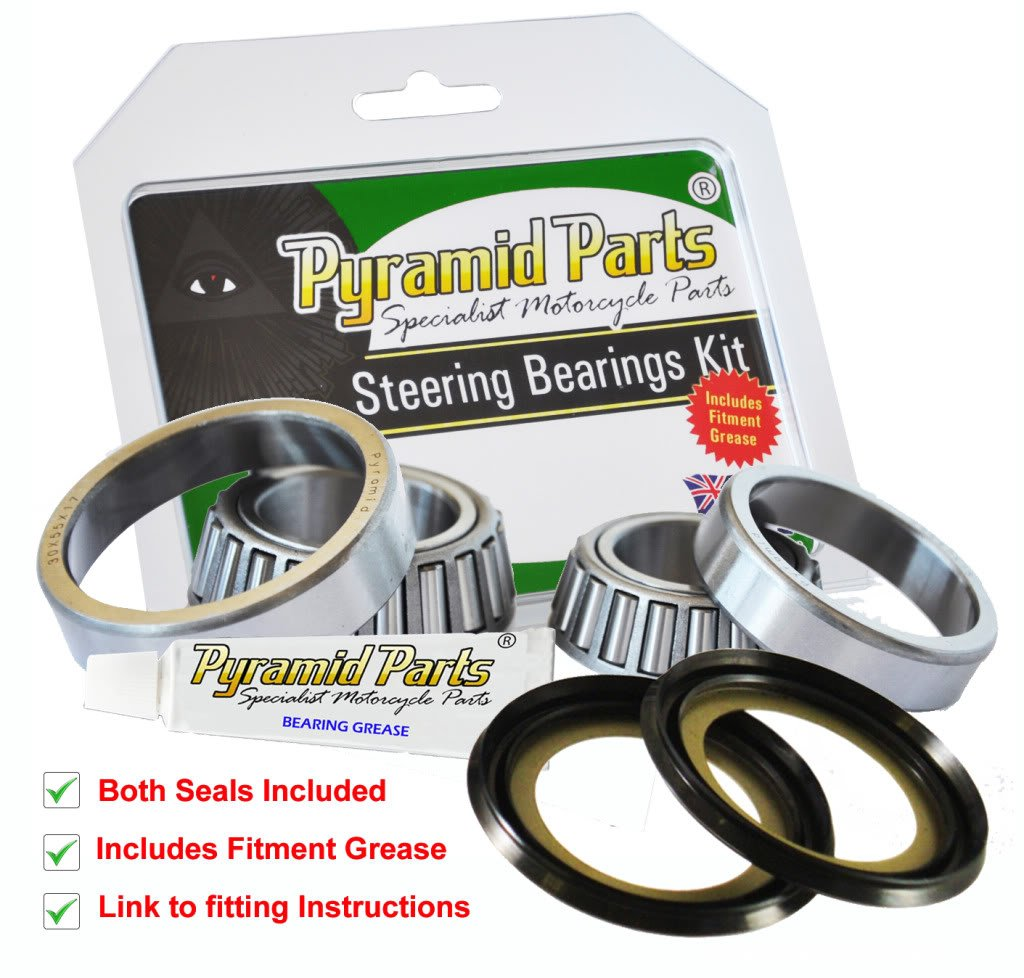 Pyramid Parts Steering Stem Bearings Kit for: Kawasaki ZRX1100