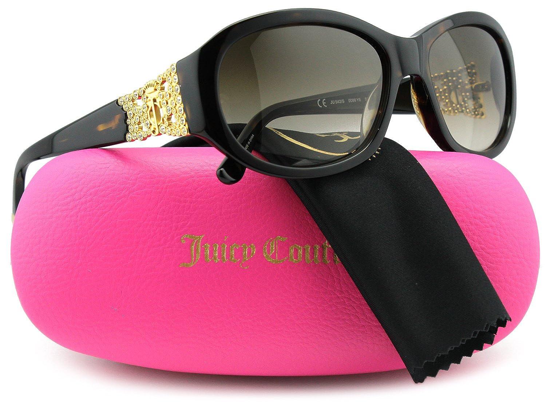Juicy Couture JU542/S Sunglasses Dark Havana w/Brown Gradient (0086) JU 542/S 0086 Y6 56mm Authentic persol po2880vm eyeglasses 24 havana 56mm